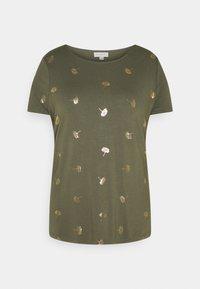 ONLY Carmakoma - CAREMA - T-shirts med print - kalamata - 4