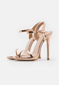 BEBO - SPARRA - Sandaler med høye hæler - rose gold metallic - 2