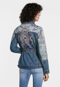 Desigual - MEMPHIS - Denim jacket - blue - 2
