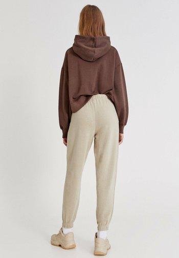 2 PACK - Pantaloni sportivi - mottled light brown
