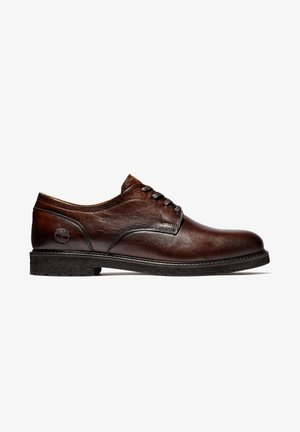 OAKROCK LT OXFORD - Stringate sportive - dk brown full grain
