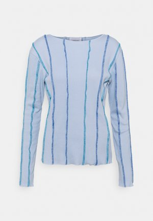 ANNA LONG SLEEVE - Long sleeved top - light blue