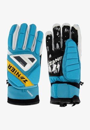 Gloves - türkis-gelb