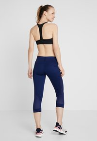 adidas by Stella McCartney - ESSENTIALS SPORT CLIMALITE 3/4 LEGGINGS - 3/4 sports trousers - dark blue - 2