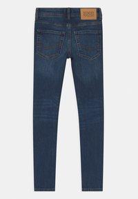 Jack & Jones Junior - JJIDAN JJORIGINAL SUPER SKINNY - Jeans Skinny Fit - blue denim - 1