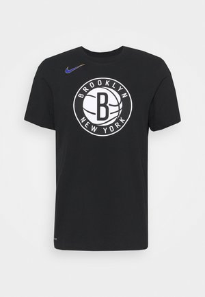 NBA BROOKLYN NETS CITY EDITION DRY TEE - Article de supporter - black
