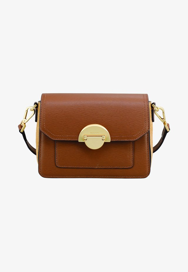 PAULA  - Across body bag - cognac