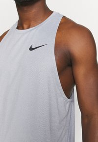Nike Performance - TANK DRY - Top - particle grey/grey fog - 3