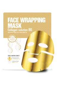 Berrisom - FACE WRAPPING MASK COLLAGEN SOLUTION 80 3 MASKS PACK - Hudplejesæt - - - 0