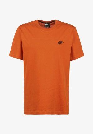 Camiseta estampada - campfire orange black