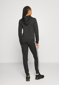 adidas Performance - Zip-up hoodie - black/white - 2