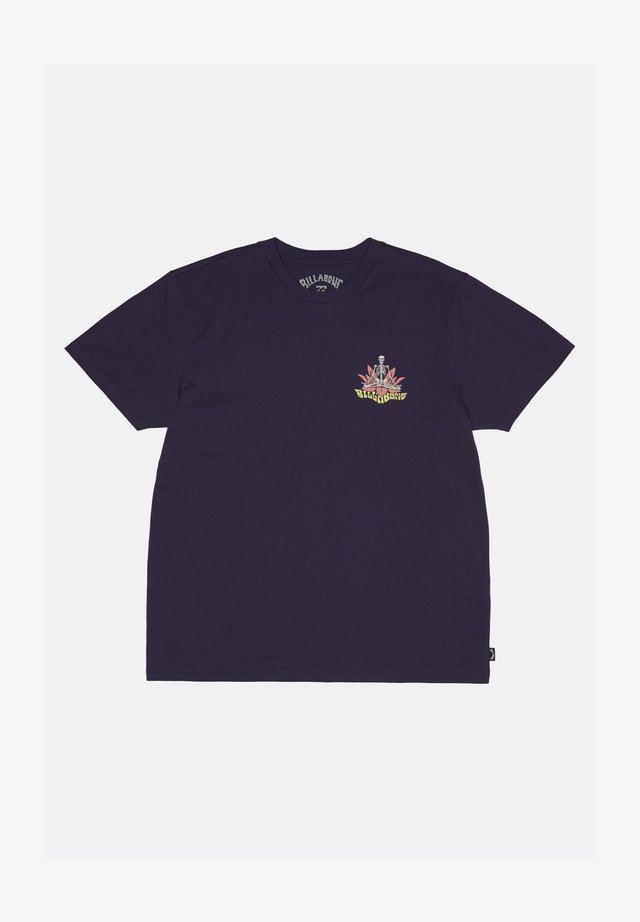 LOTUS  - Print T-shirt - purp