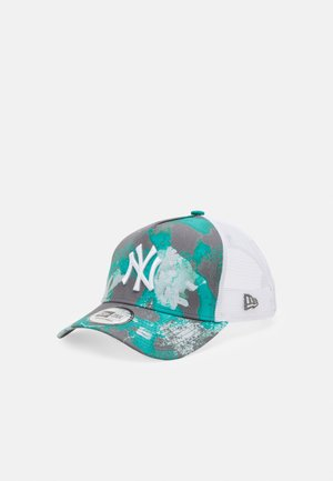 SEASONAL TRUCKER UNISEX - Cap - turquoise/white