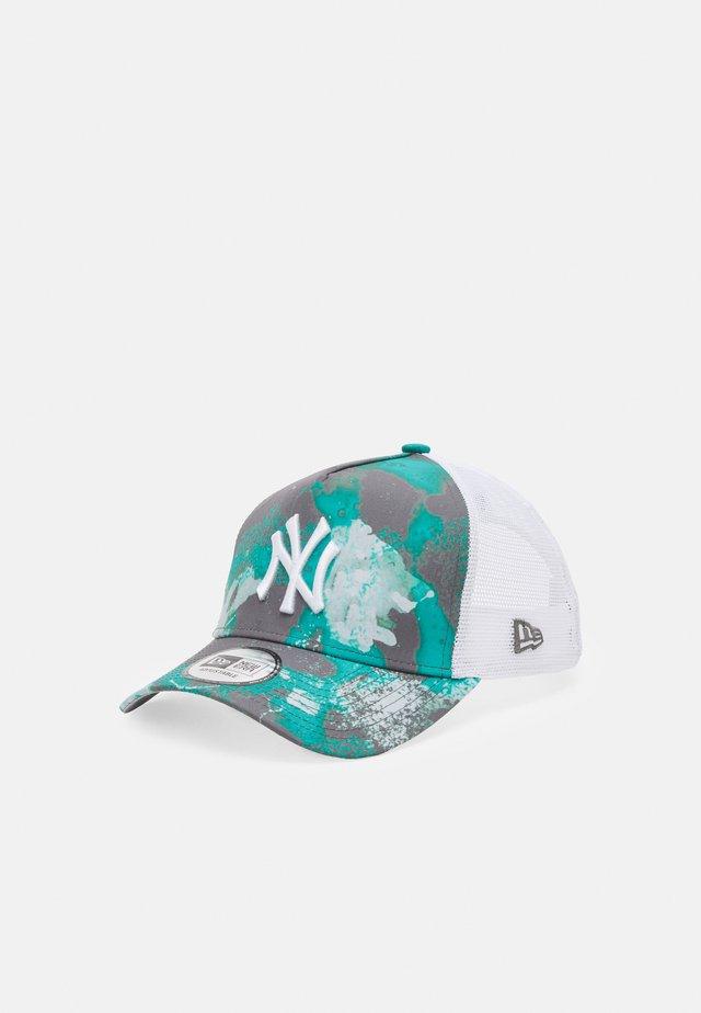 SEASONAL TRUCKER UNISEX - Cappellino - turquoise/white