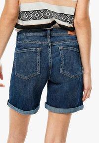 s.Oliver - Denim shorts - blue denim stretch - 4