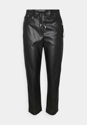 HAZOI - Trousers - black