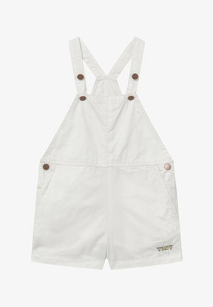DENIM ROMPER - Dungarees - off white