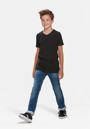 WE FASHION JONGENS BASIC T-SHIRT, 2-PACK - T-shirt basic - black