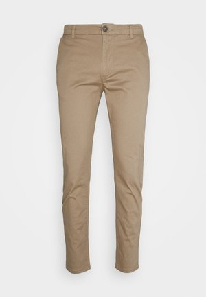 Chino kalhoty - natural