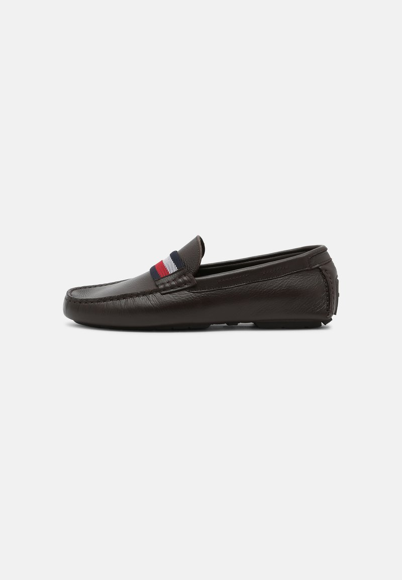 Tommy Hilfiger - ICONIC DRIVER - Mocassins - cocoa