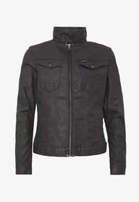 G-Star - ARC 3D ZIP SLIM - Denim jacket - pintt black - 4