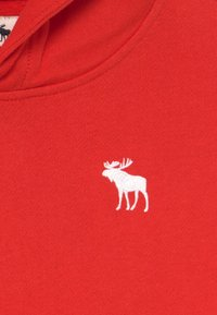 Abercrombie & Fitch - ICON - Jersey con capucha - red - 3