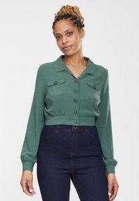 Collectif - Light jacket - green - 0