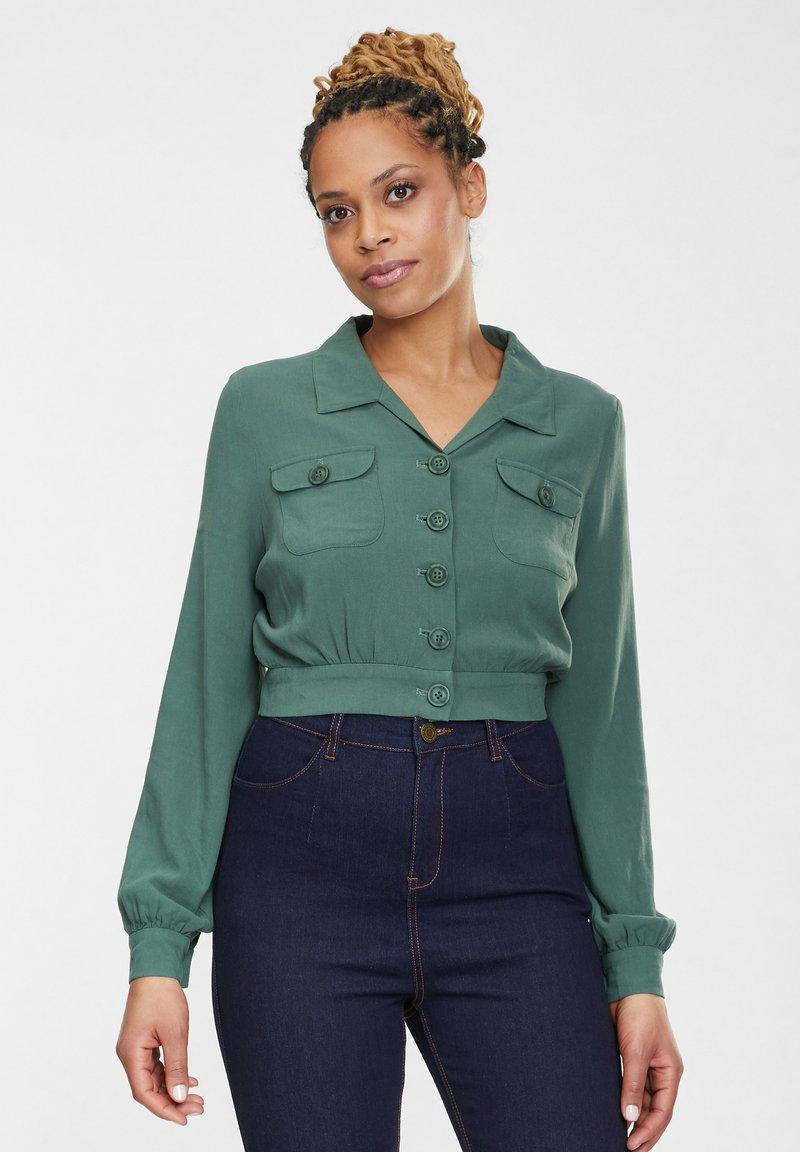 Collectif - Light jacket - green
