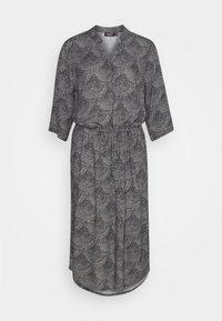 Soaked in Luxury - ZAYA DRESS - Day dress - black/creme - 4
