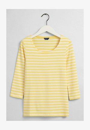 Long sleeved top - brimestone yellow