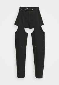 Weekday - MARIAH  - Jeans straight leg - washed black - 6