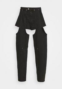 MARIAH  - Džíny Straight Fit - washed black