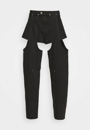 MARIAH  - Straight leg -farkut - washed black