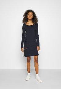 Ragwear - PENELOPE - Žerzejové šaty - navy - 0