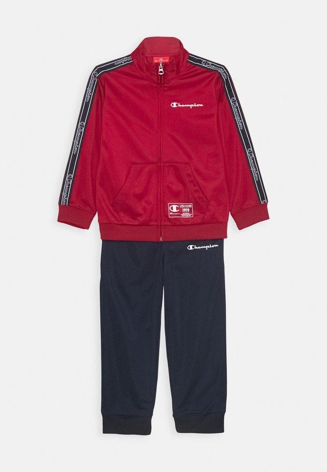 LEGACY FULL ZIP SUIT SET - Survêtement - dark red