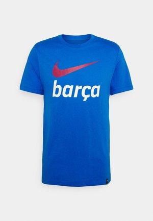FC BARCELONA CLUB TEE - Fanartikel - signal blue