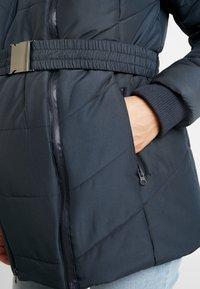 LOVE2WAIT - COAT DOUBLE ZIPPER PADDED - Winter jacket - navy - 5