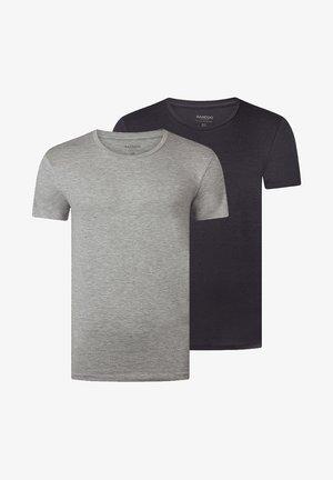 2PACK - Undershirt - grey, dark grey