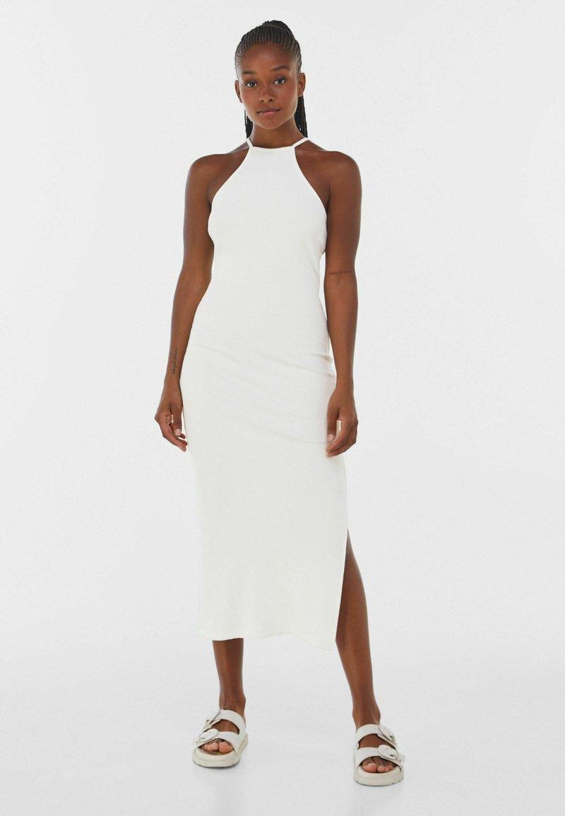 Bershka - Robe pull - white