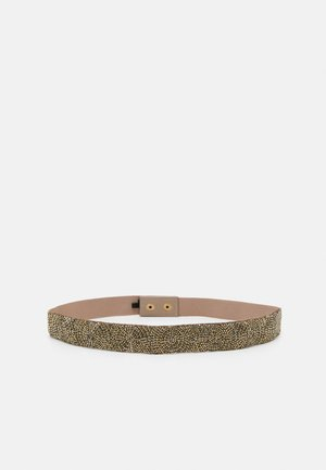 EMBROIDERY BELT GENERAL - Taljebælter - light gold-coloured