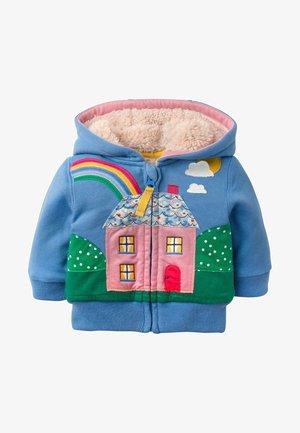 Zip-up hoodie - elisabethanisches blau, haus