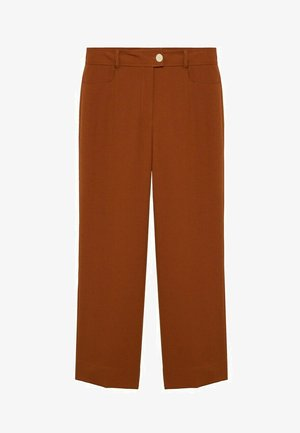 TEJAS - Trousers - brown