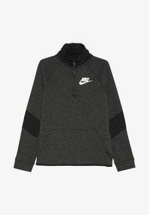 Sweatshirt - black/heather/white