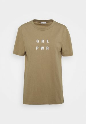 STANLEY POWER TEE - T-shirts print - trench