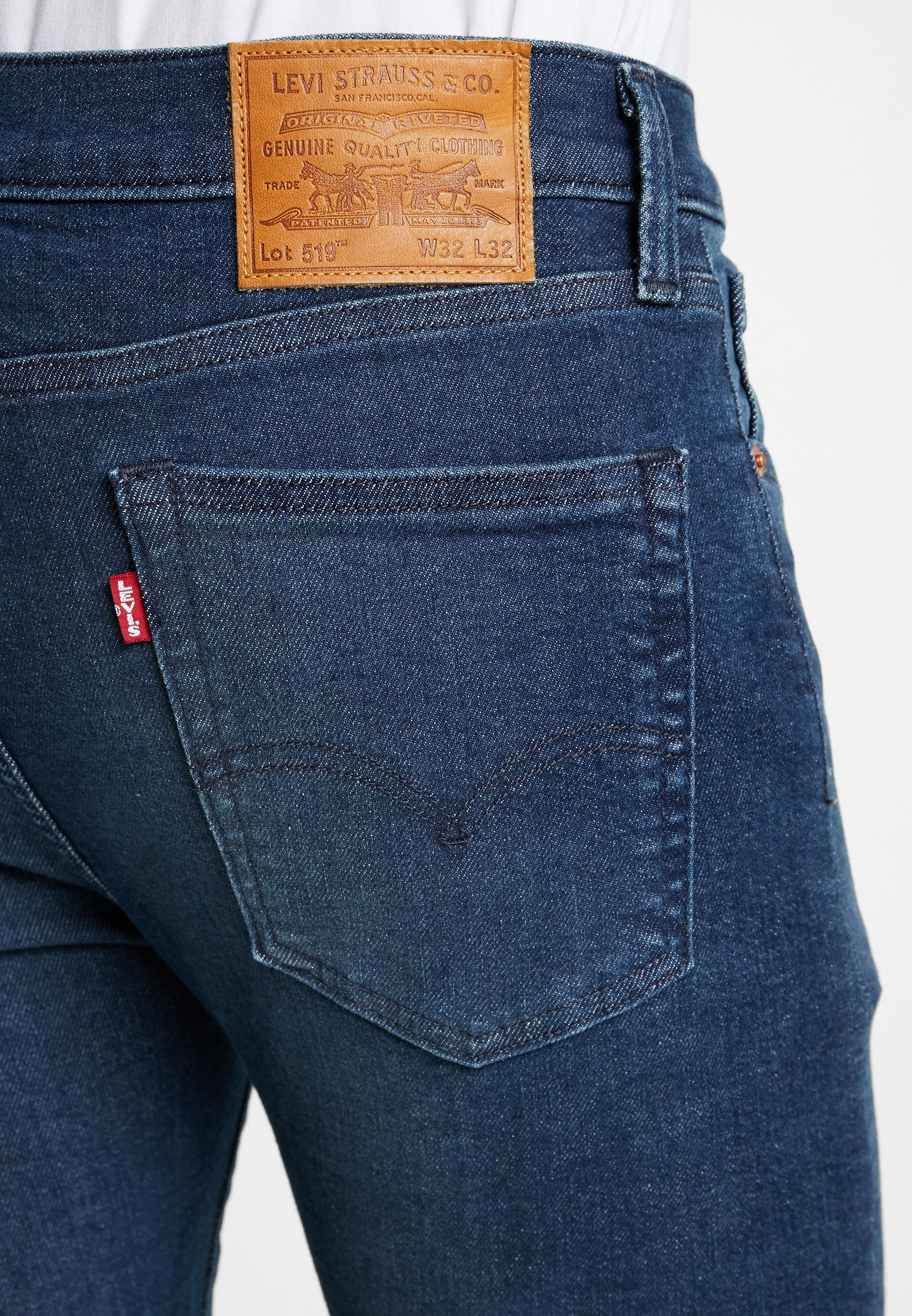 Levi's® 519™ SUPER SKINNY FIT - Jeans Skinny - sage overt adv tnl