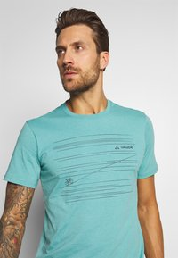 Vaude - ME CYCLIST  - T-Shirt print - lake - 3