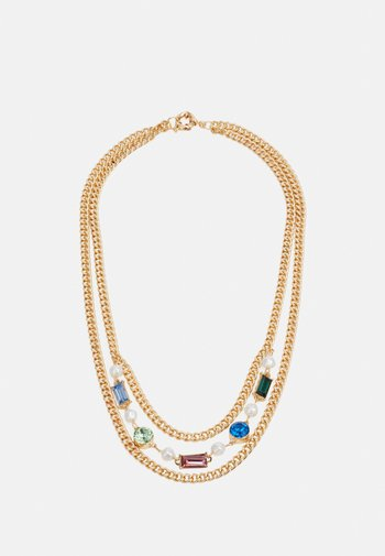EMBELLISHED CHAIN NECKLACE - Necklace - mixed