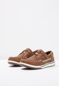 Sebago - TRITON - Boat shoes - walnut - 2