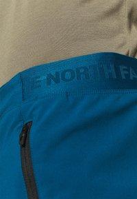 The North Face - IMPENDOR ALPINE SHORT - Träningsshorts - blue/black - 3