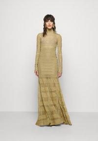 Hervé Léger - GOWN - Occasion wear - gold-coloured - 1